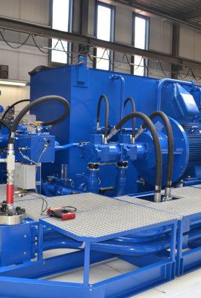Hydraulic Power Unit for a 40MW CSD