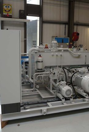 Hydraulic Power Unit for use in dredging applications